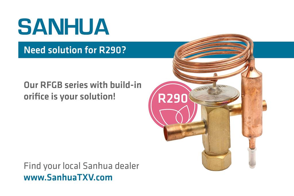 sanhua expansion valve
