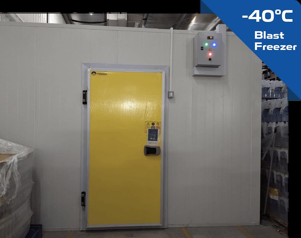 blast freezer room