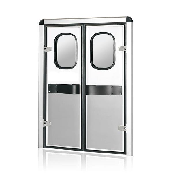 dual wing service door